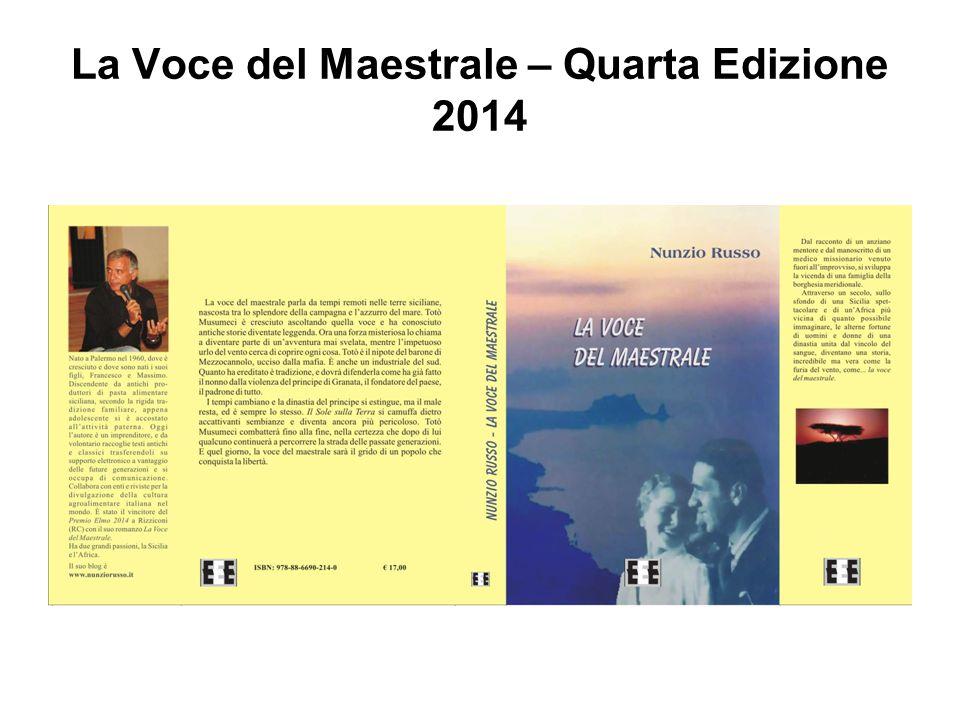 La Voce del Maestrale – Quarta Edizione 2014