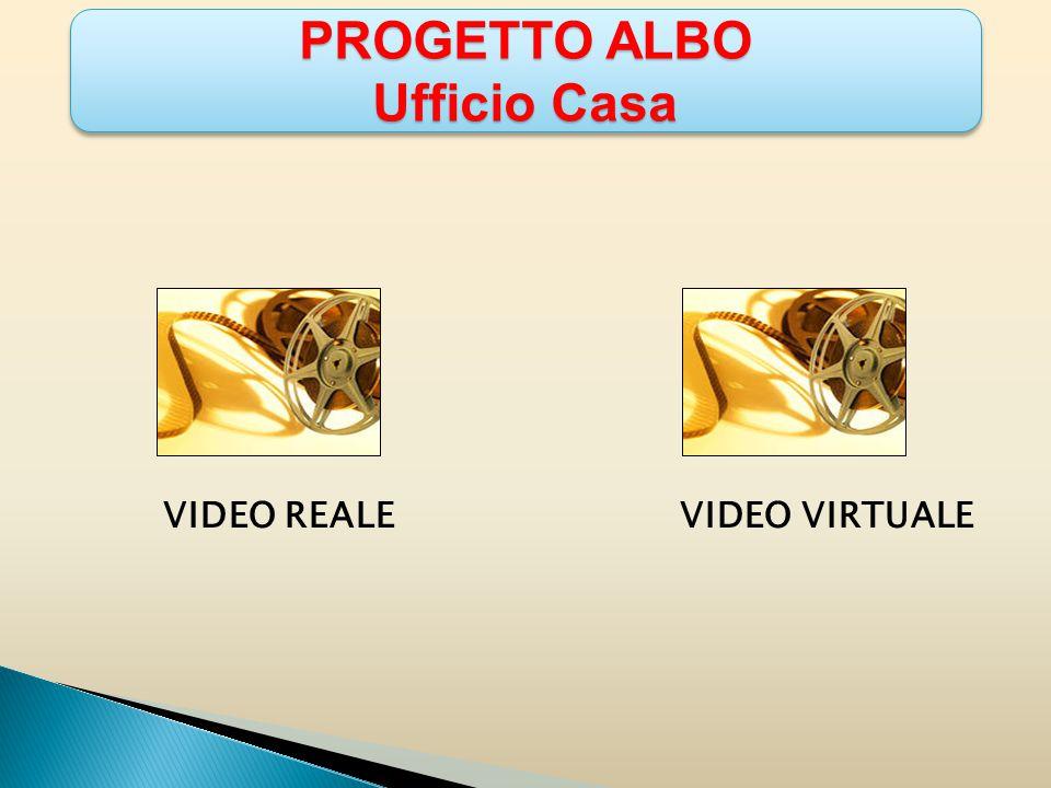PROGETTO ALBO Ufficio Casa PROGETTO ALBO Ufficio Casa VIDEO REALE VIDEO VIRTUALE