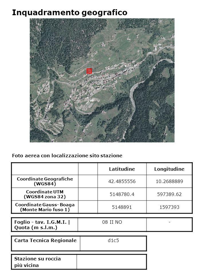 Inquadramento geologico Estratto da Progetto Cartografia Geoambientale – Comunità montana Alta Valtellina - Regione Lombardia ver.