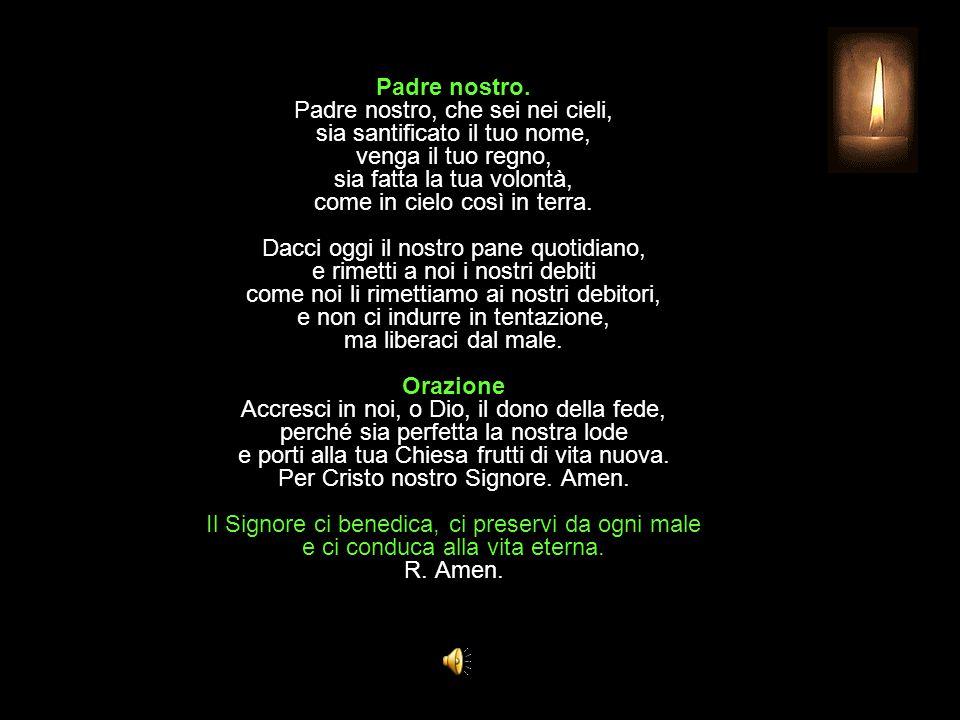 Antifona al Benedictus Da quelli che ci odiano salvaci, o Signore.