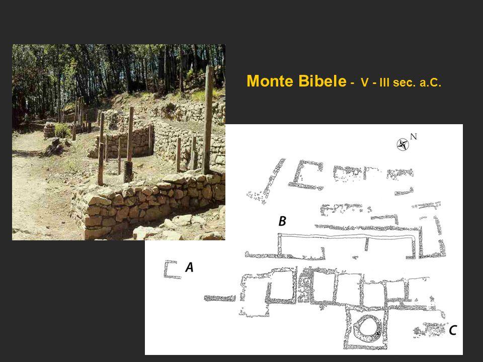 Monte Bibele - V - III sec. a.C.