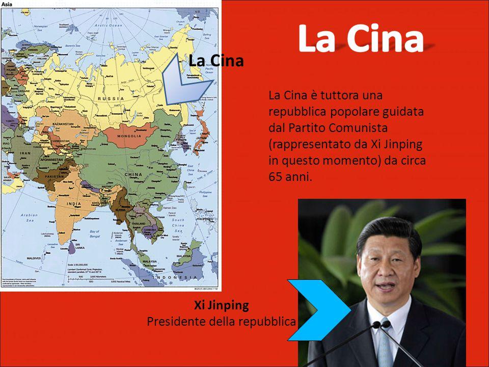 La Cina è tuttora una repubblica popolare guidata dal Partito Comunista (rappresentato da Xi Jinping in questo momento) da circa 65 anni.