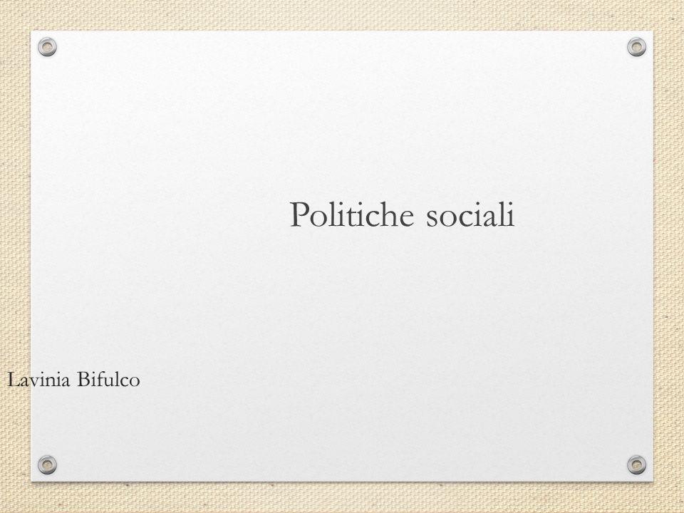 Attivazione e investimento sociale Investimento sociale.
