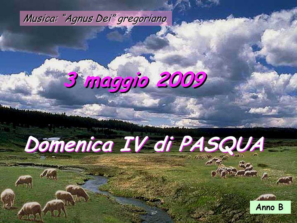Musica: Agnus Dei gregoriano 3 maggio 2009 Domenica IV di PASQUA Anno B