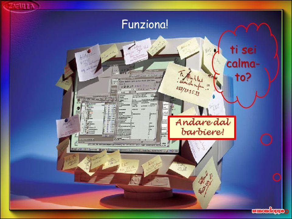 Sarà stressato pure lui: prova a passare i file sulla memoria esterna. PC sempre più anomalo… Scansati!