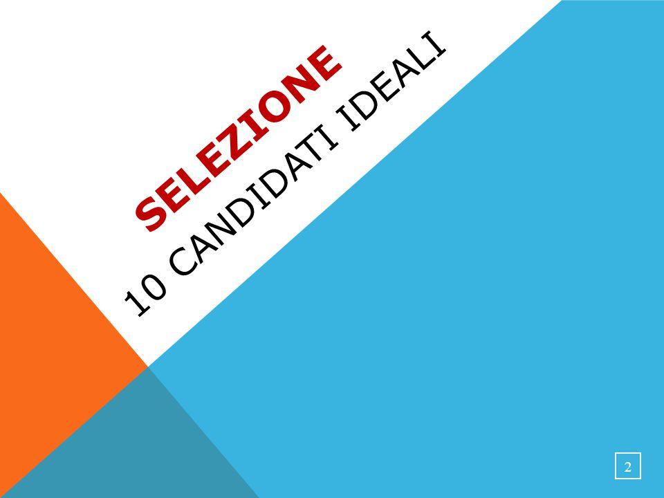 SELEZIONE 10 CANDIDATI IDEALI 2