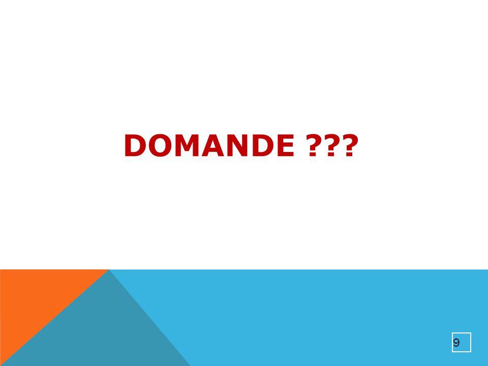 DOMANDE ??? 9