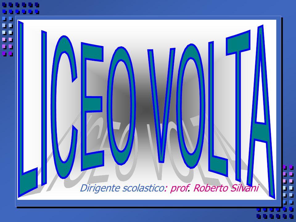 Dirigente scolastico: prof. Roberto Silvani