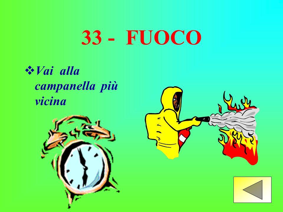 32 - USCITA DI EMERGENZA Vai avanti  Vai avanti di 2