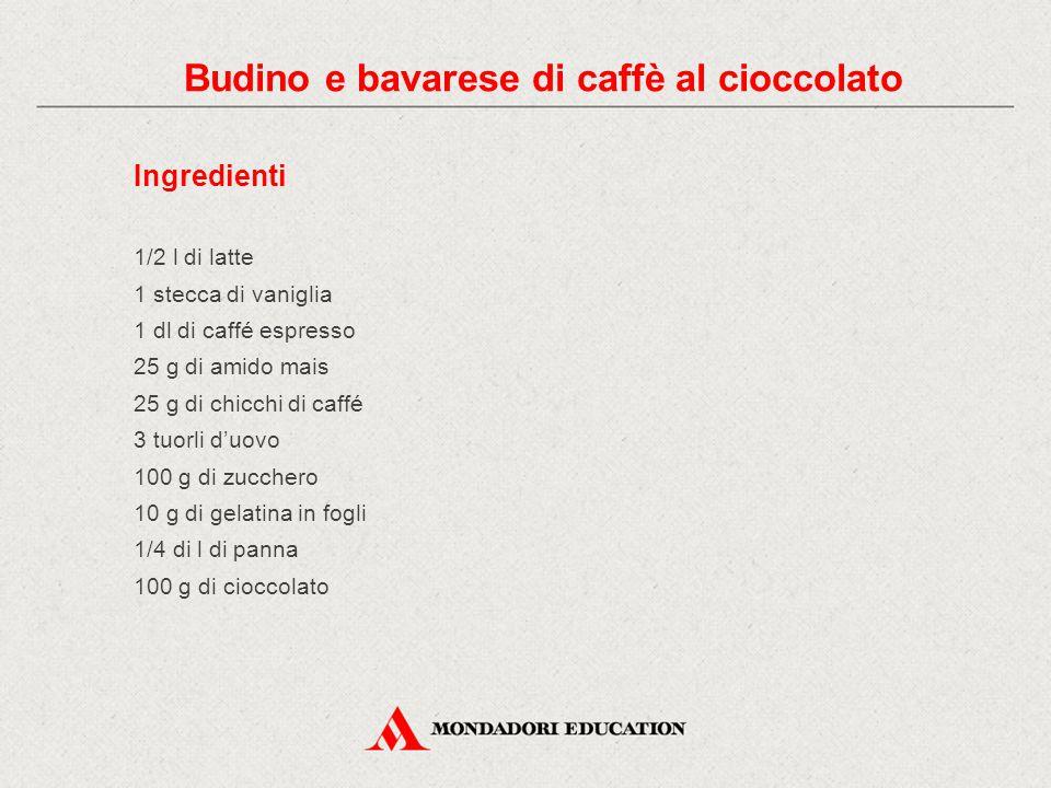Procedimento e attrezzature 1) Questo dessert si compone di tre strati e si prepara in un bicchiere o in una coppa di vetro.