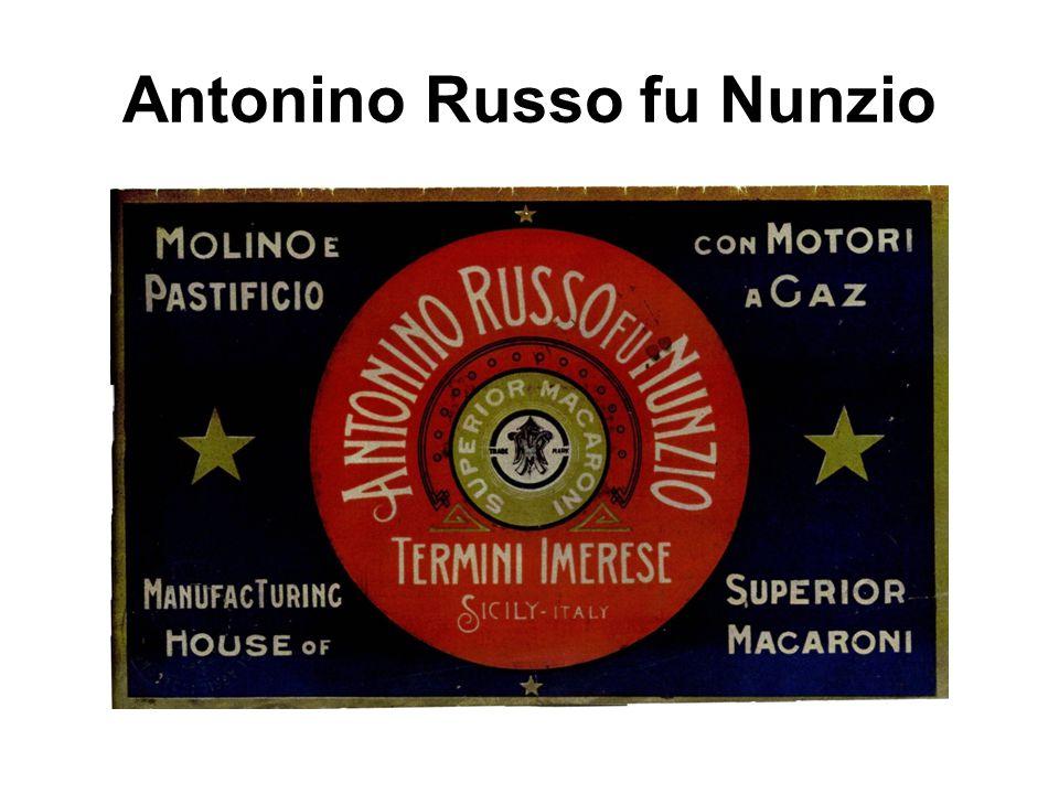 Antonino Russo fu Nunzio