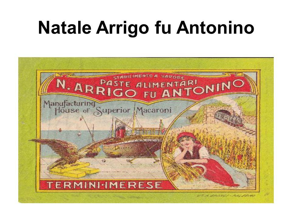 Natale Arrigo fu Antonino