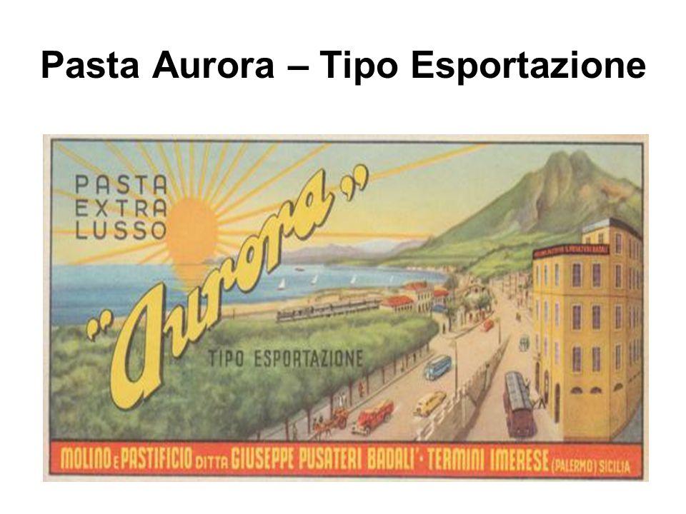 Pasta Aurora – Tipo Esportazione