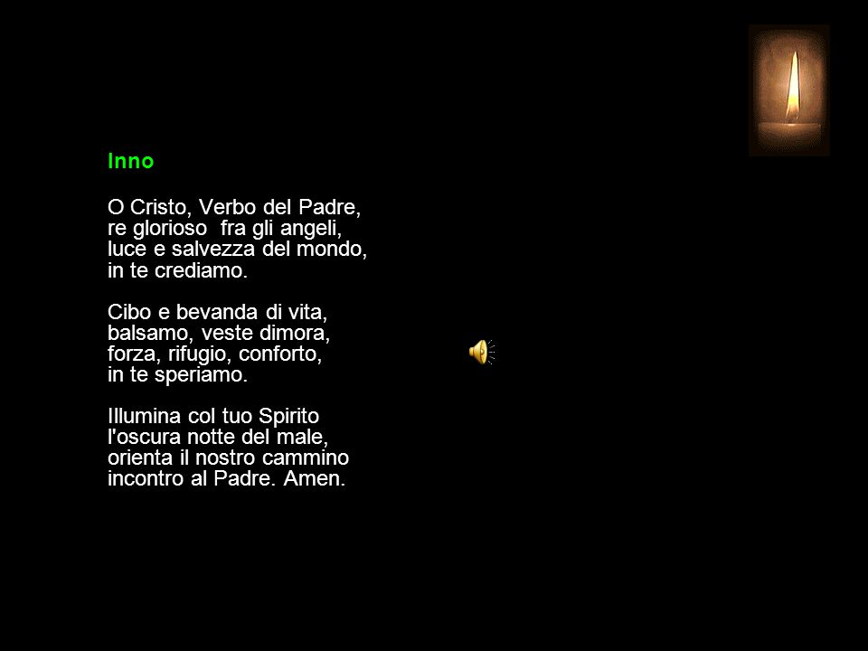 2 LUGLIO 2015 GIOVEDÌ - XIII SETTIMANA DEL TEMPO ORDINARIO UFFICIO DELLE LETTURE INVITATORIO V.