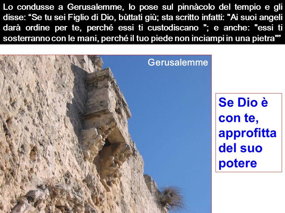 2 - ALTERNATIVA Desiderare : Denaro, prestigio, potere, successo...