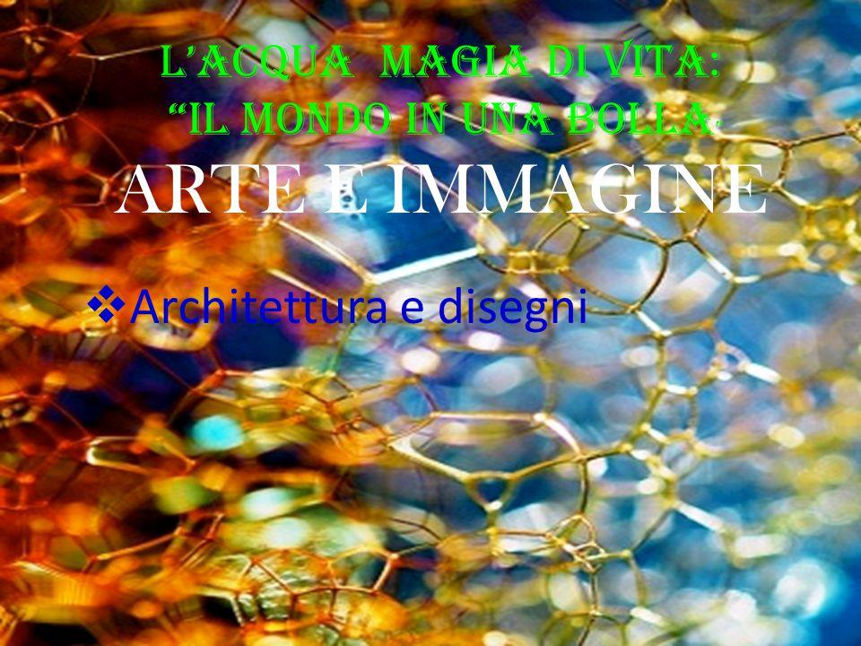 """L'Acqua Magia di Vita: """"il Mondo in una BOLLA """" ARTE E IMMAGINE  Architettura e disegni"""