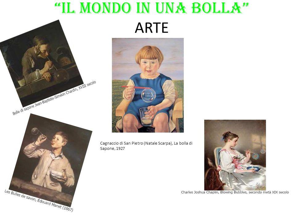 """""""il Mondo in una BOLLA"""" ARTE Cagnaccio di San Pietro (Natale Scarpa), La bolla di Sapone, 1927"""