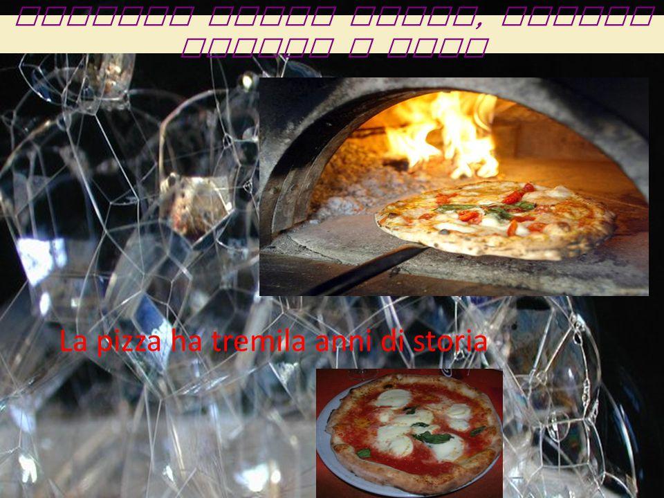 Origini della pizza, Egitto Grecia e Roma La pizza ha tremila anni di storia