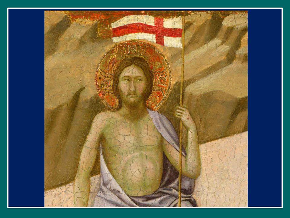 Al mattino di Pasqua, avvertiti dalle donne, Pietro e Giovanni corsero al sepolcro e lo trovarono aperto e vuoto.