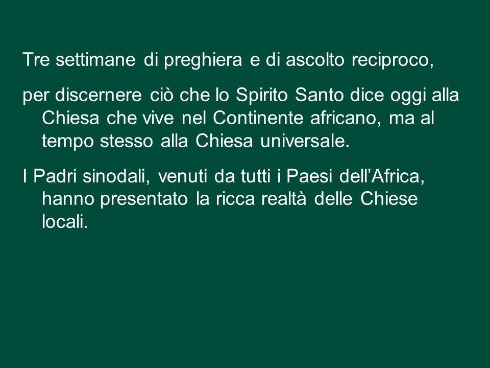 Con la celebrazione eucaristica nella Basilica di San Pietro, si è conclusa la Seconda Assemblea Speciale per l'Africa del Sinodo dei Vescovi. Con la