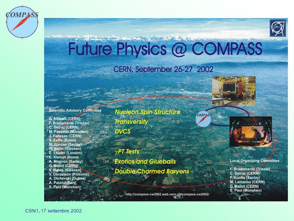CSN1, 17 settembre 2002