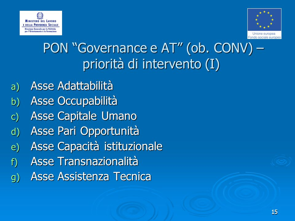 16 PON Governance e AT (ob.CONV) – Assi PON Governance e AT (ob.