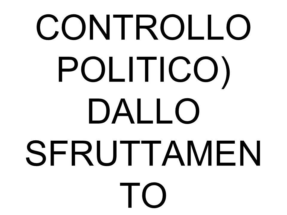 COLONIALISM O PASSAGGIO DAL CARATTERE COMMERCIAL E E FINANZIARIO( SIN DAL 500) AD UN NUOVO TIPO DI SFRUTTAMEN TO ECON.(COLON IA NUOVO MERCATO E CONTRO