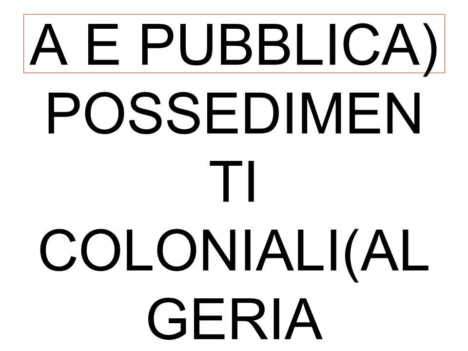 FRANCIA DOPO SEDAN PROCLAMATA LA III REPUBBLICA NUOVA COSTITUZION E(ISTRUZIONE ELEMENTARE GRATUITA OBBLIGATORI A E PUBBLICA) POSSEDIMEN TI COLONIALI(A