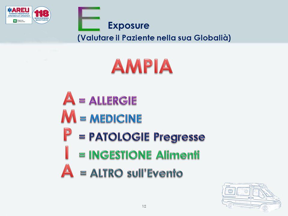 12 Exposure (Valutare il Paziente nella sua Globalià)