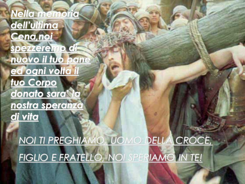 TU, SIGNORE, TI PRENDI CURA DI TUTTI COLORO CHE SONO SFINITI. VI°Stazione: Veronica asciuga il volto di Gesù