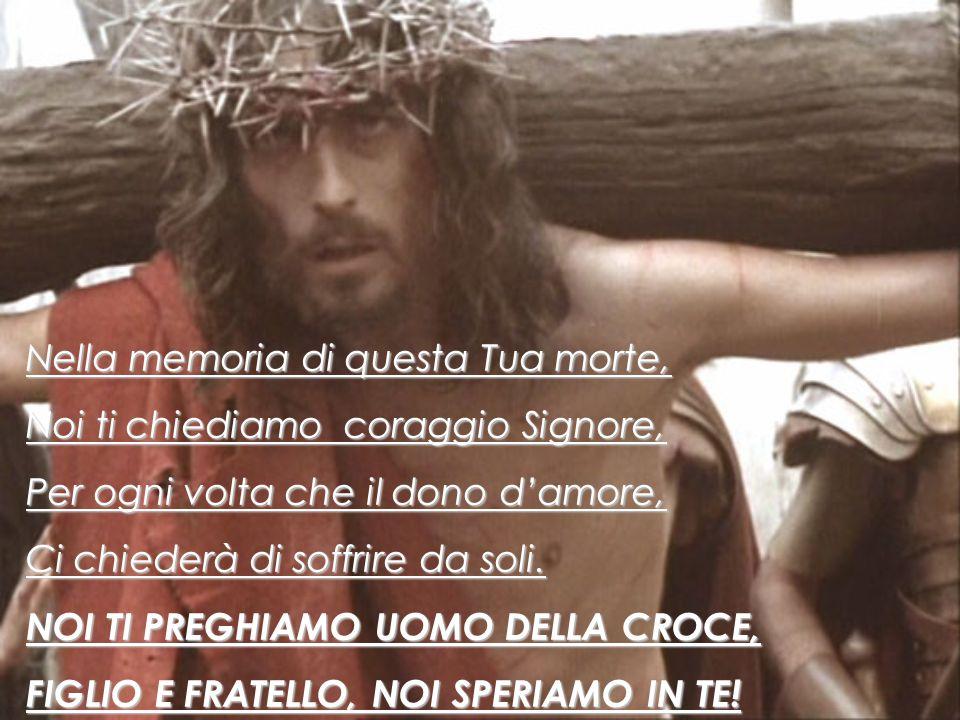 TU, SIGNORE, TU SEI SEMPRE AL FIANCO DEGLI INNOCENTI! I°stazione: Gesù è condannato a morte