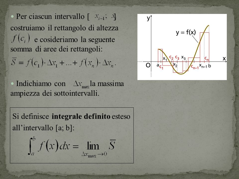 Se una funzione è continua in [a; b], allora esiste la derivata della funzione integrale: e vale: In particolare:
