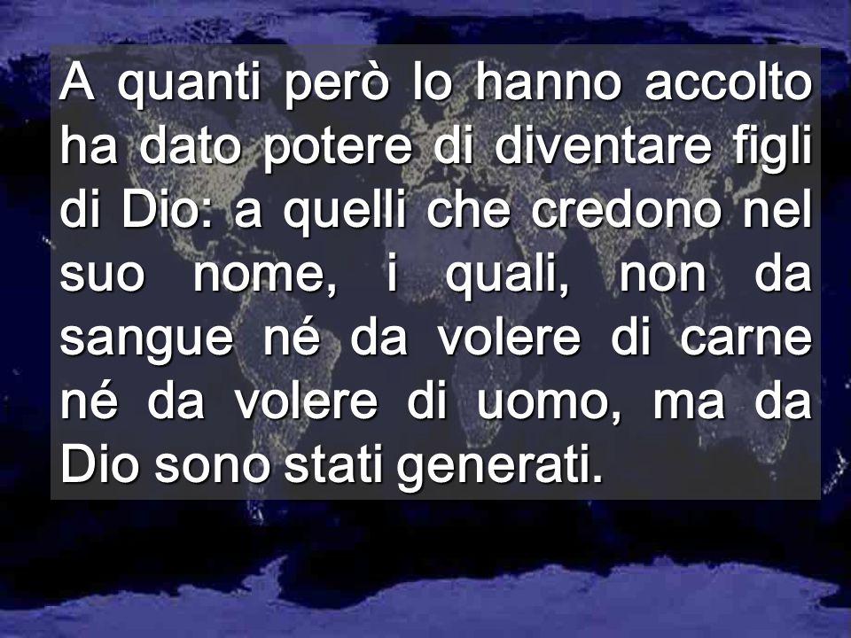 Chi non ama il fratello è un assassino Chi lo ama è nato da Dio www.entreculturas.org www.entreculturas.org Più di mille milioni non hanno possibilità