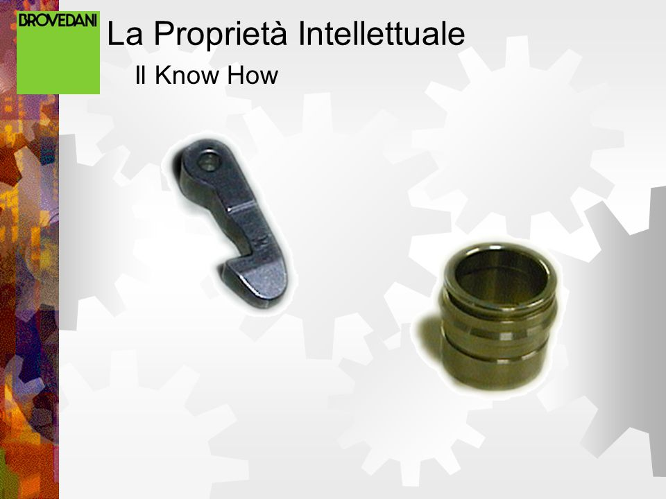 La Proprietà Intellettuale Il Know How