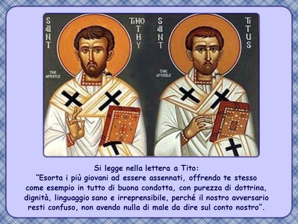 La Chiesa primitiva dava grande rilievo a queste parole di Gesù.