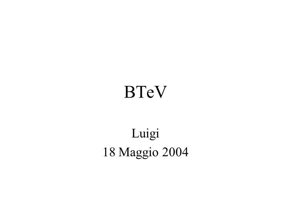 BTeV Luigi 18 Maggio 2004