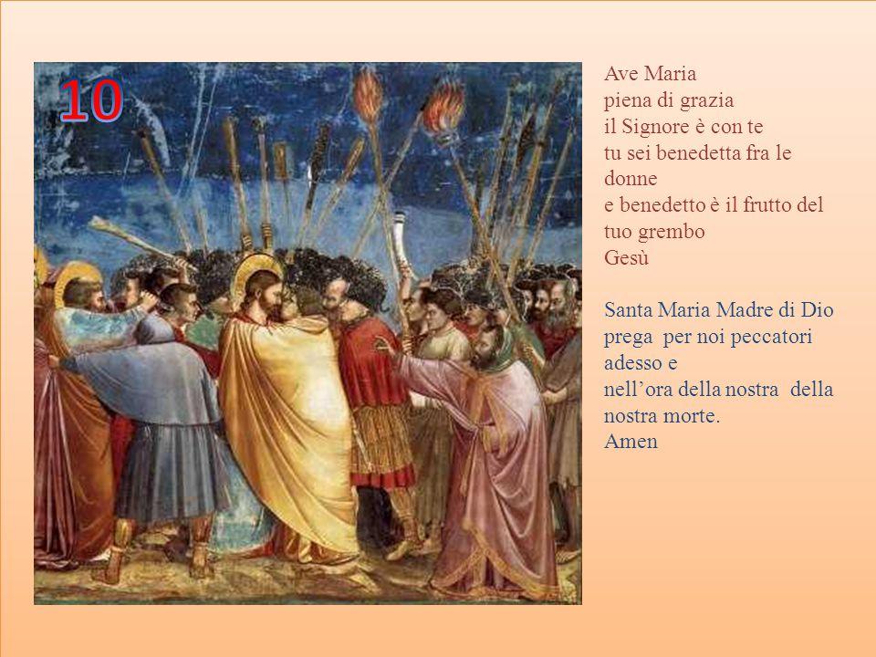 Gloria al Padre, al Figlio e allo Spirito Santo Come era in principio, ora e sempre.