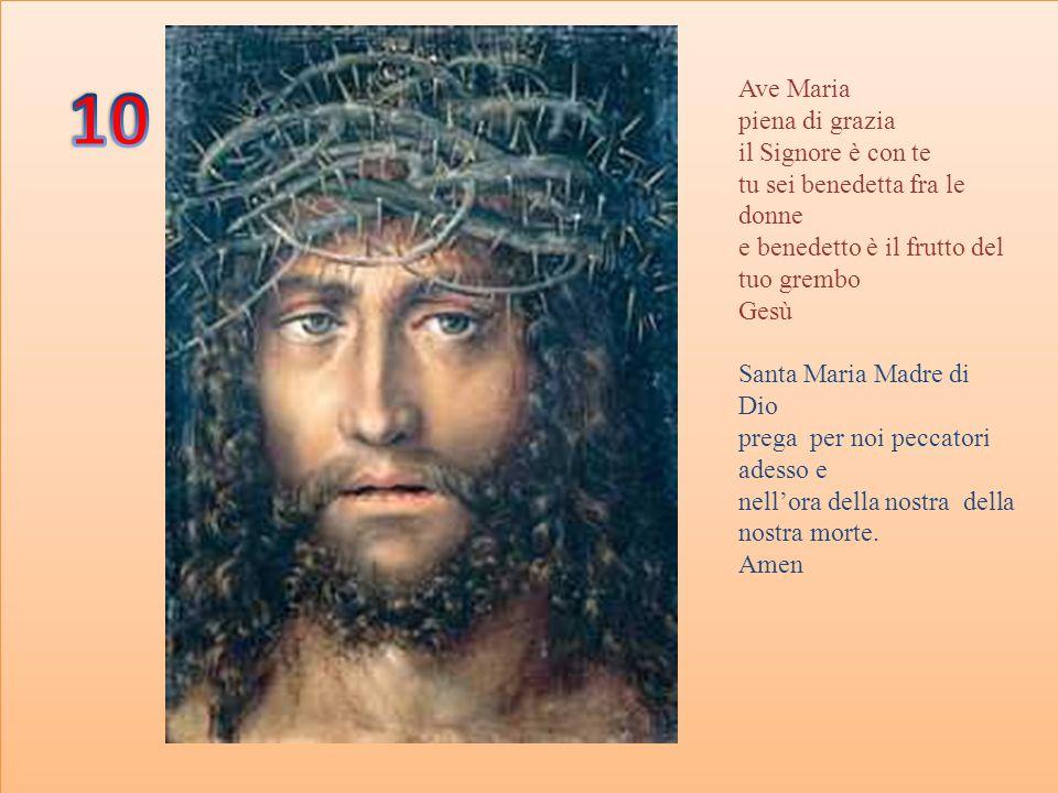 Gloria al Padre Al Figlio E allo spirito Santo Come era in principio Ora e sempre.