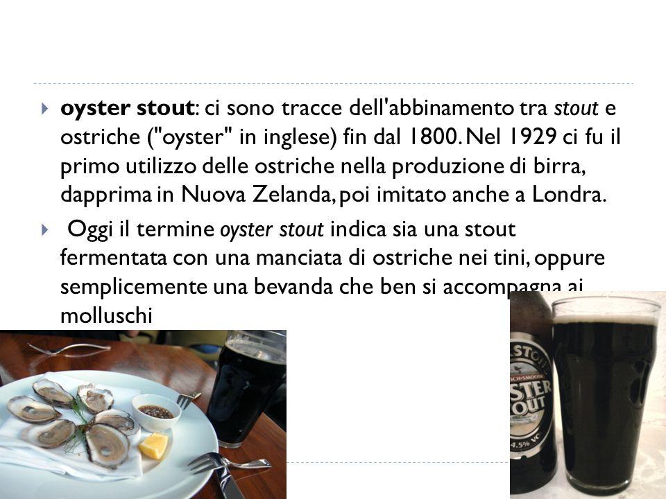  oyster stout: ci sono tracce dell'abbinamento tra stout e ostriche (
