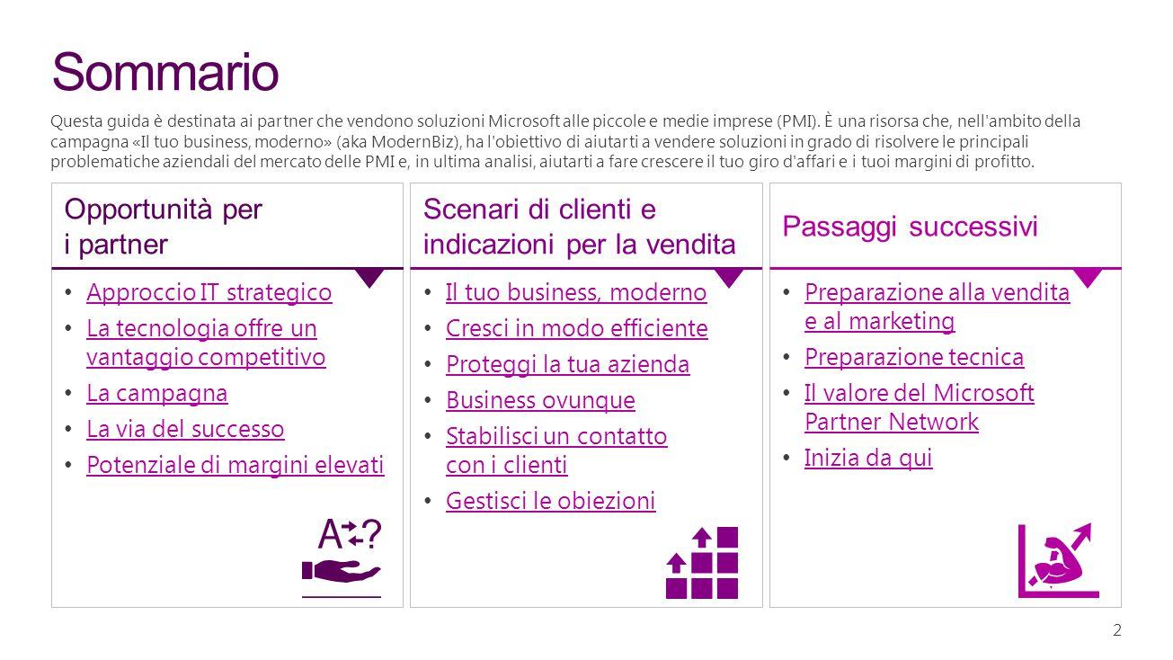 23 Scenario del cliente Le persone possono apportare modifiche a una proposta di vendita correlata con Office 365 e OneDrive for Business.