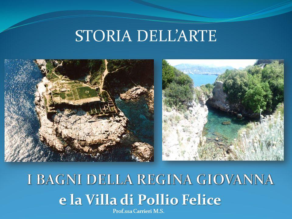 e la Villa di Pollio Felice STORIA DELL'ARTE Prof.ssa Carrieri M.S.