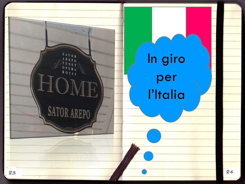 1 2 In giro per l'Italia 83 84