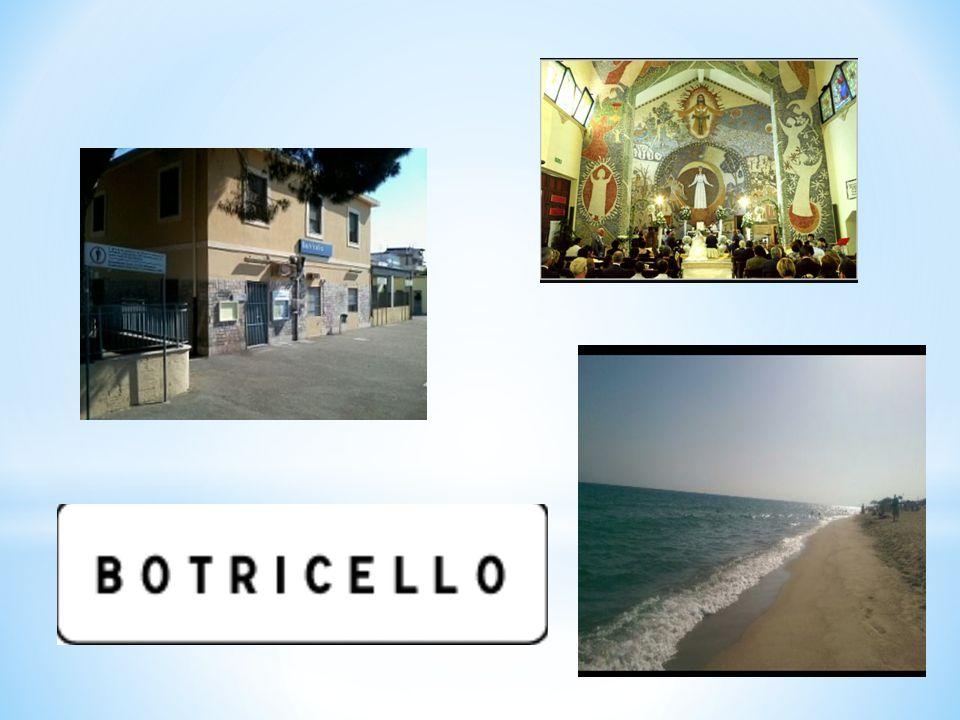 * Botricello è un comune di 5024 abitanti nella provincia di Catanzaro..