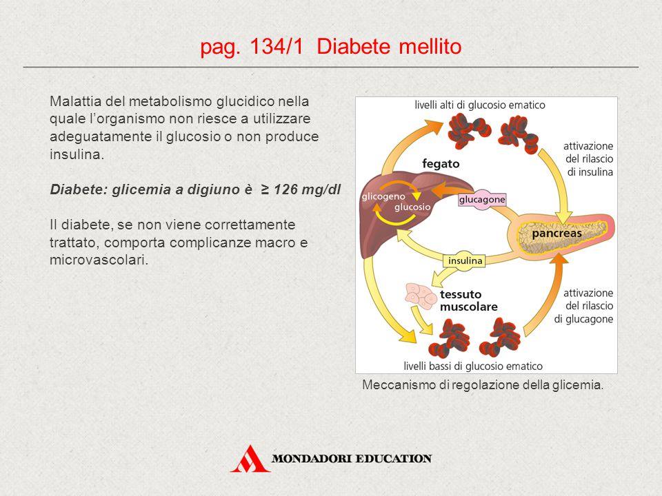 Malattia del metabolismo glucidico nella quale l'organismo non riesce a utilizzare adeguatamente il glucosio o non produce insulina.