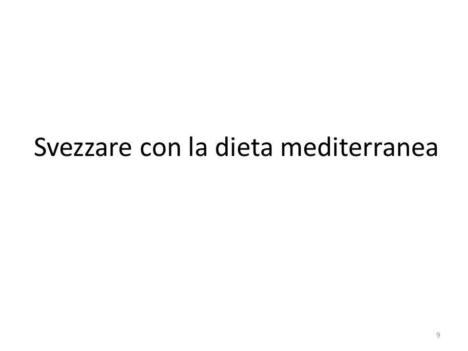 Svezzare con la dieta mediterranea 9