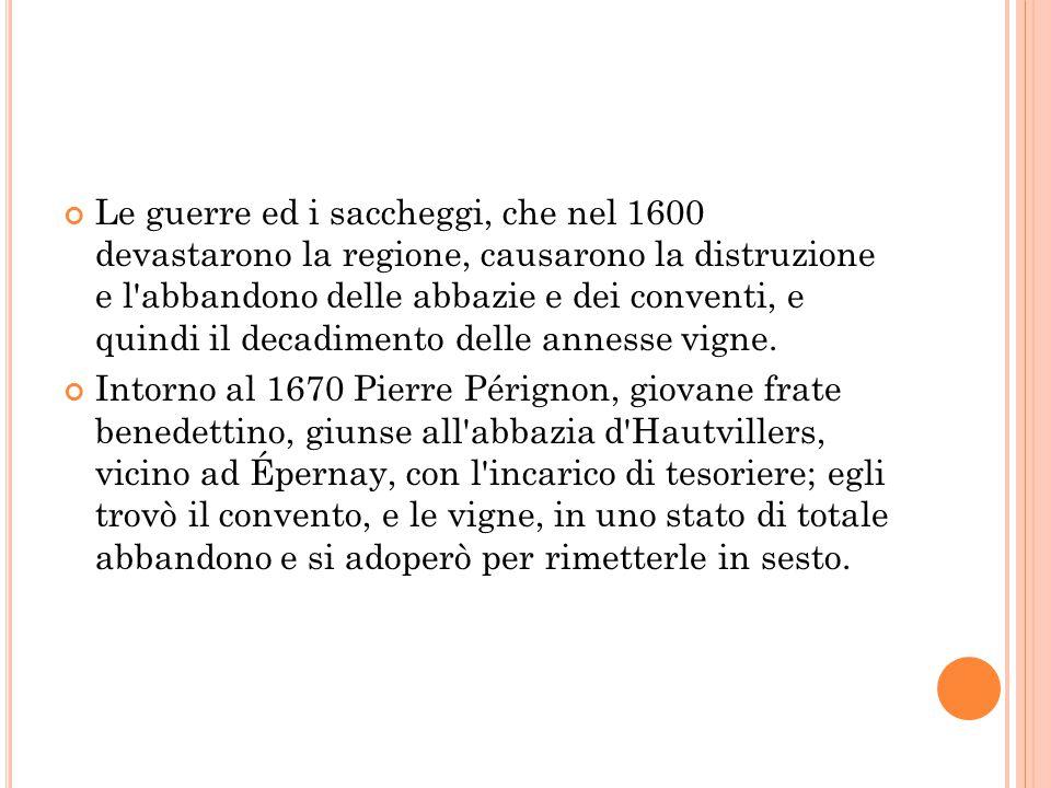 Le guerre ed i saccheggi, che nel 1600 devastarono la regione, causarono la distruzione e l'abbandono delle abbazie e dei conventi, e quindi il decadi