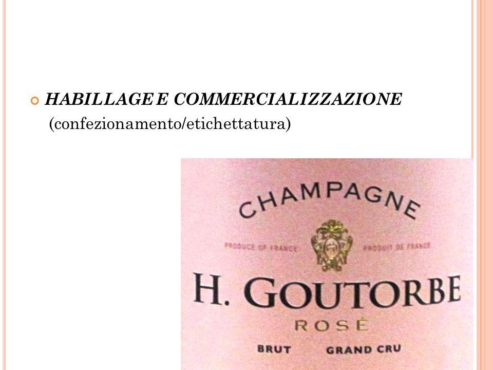 HABILLAGE E COMMERCIALIZZAZIONE (confezionamento/etichettatura)