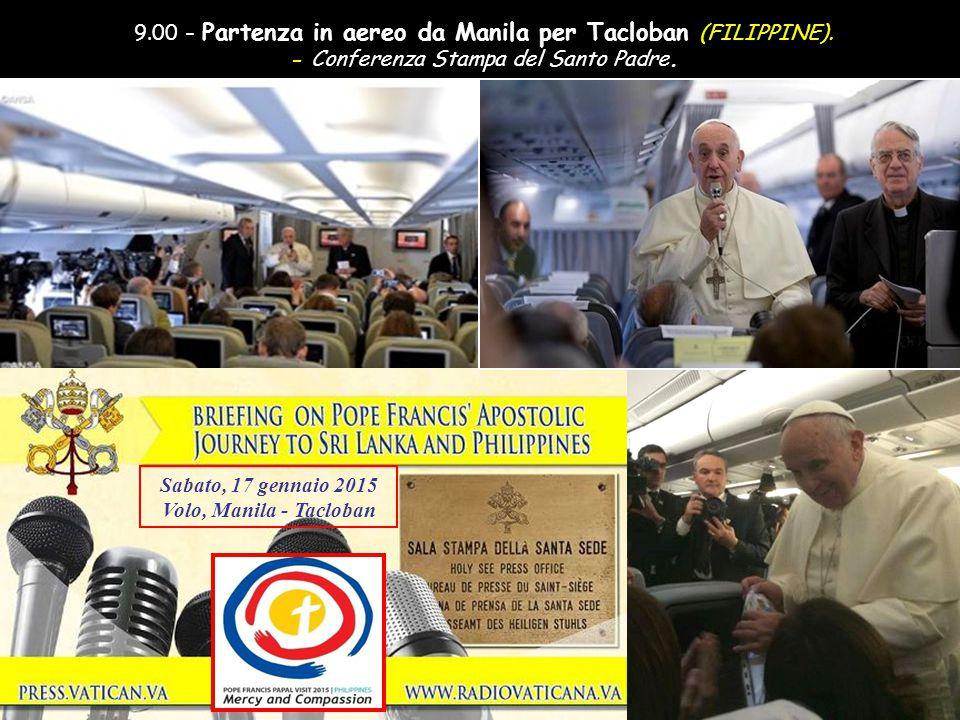. Avanzamento automatico – Alzare il volume audio IN SRI LANKA E FILIPPINE (12-19 gennaio 2015) VIAGGIO APOSTOLICO DEL SANTO PADRE FRANCESCO ANTEPRIMA