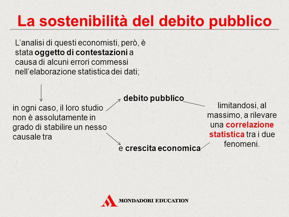 L'analisi di questi economisti, però, è stata oggetto di contestazioni a causa di alcuni errori commessi nell'elaborazione statistica dei dati; in ogn