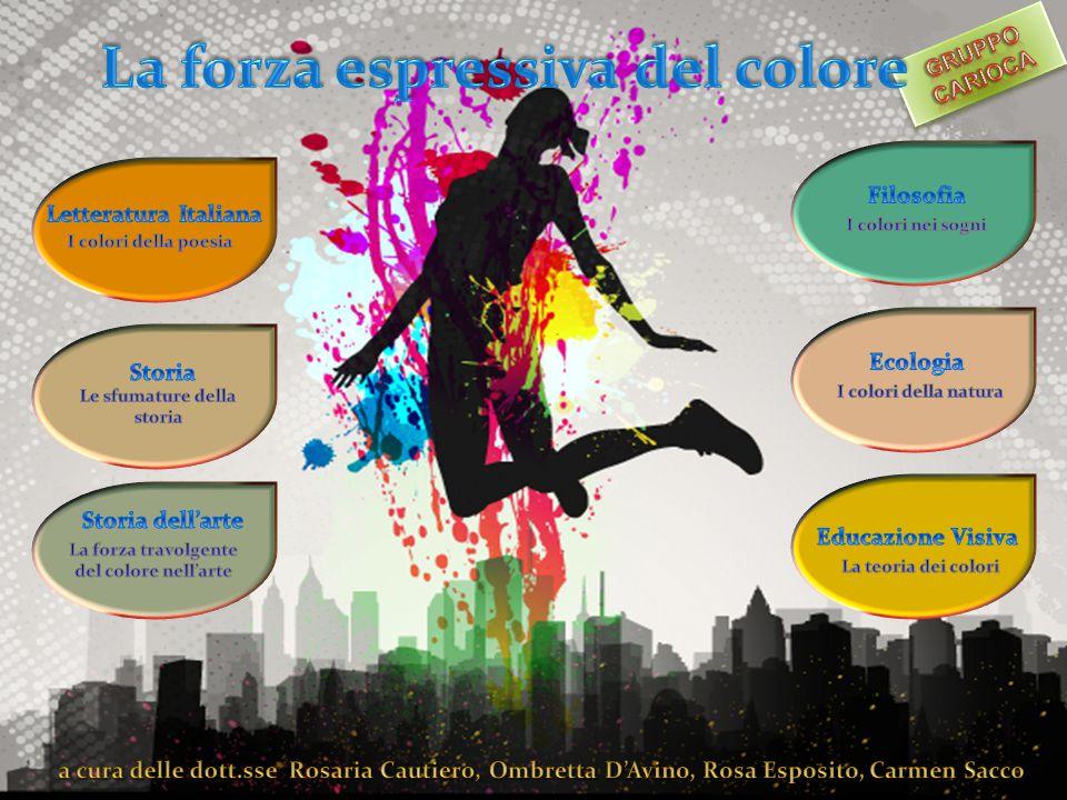 La forza travolgente del colore nell'arte Dott.ssa Carmen Sacco Classe di concorso A050 Premessa Nel mondo dell'arte il colore ha sempre avuto un'importanza fondamentale.